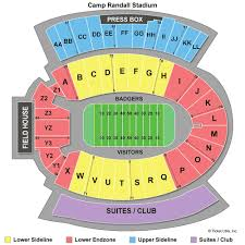 Camp Randall Student Section Seating Chart Wisconsin Camp Randall Stadium Seating Chart Clave Calendar