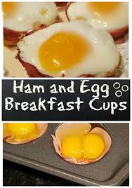 Julia\u0027s Simply Southern: Baked Ham and Egg Cups