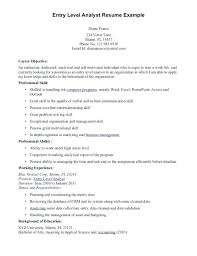 Entry Level Resumes Example Entry Level Resumes Entry Level Jobs ...