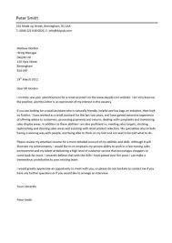Covering Letter For Sales Assistant New Retail Cover Letter Example