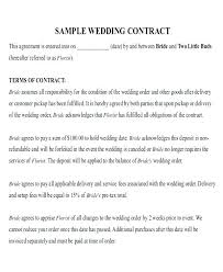 Example Of Catering Contract Sample Catering Contract Template Free Sample Catering