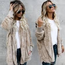 2018 women s winter fox fur coat jacket petite las fur peacoat outwear hooded fashion long sleeve parka coats short trench coats warm outwear from