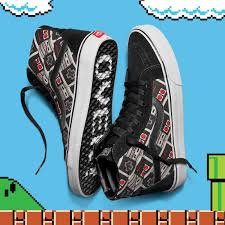 vans x nintendo. vans and nintento pay homage to 8-bit classics with new collection x nintendo -