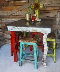 catalina bar table and stools set stool sofia s rustic furniture image square pub chairs small kitchen piece red black counter height cheap sets with