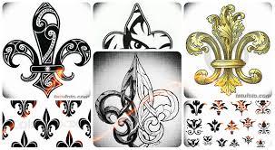 эскизы тату королевская лилия коллекция интересных рисунков для