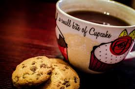 Cookie Coffee Cups Free Images Snow Hot Chocolate Meal Food Red Produce