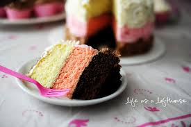 Neapolitan Cake Life In The Lofthouse