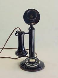 western electric 50al candlestick telephonearchive com rotary western electric model 50al antique candlestick telephone