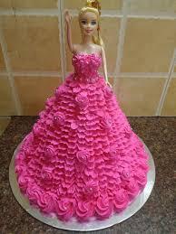 Pink Doll Cake Mahalaxmibakers