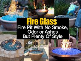 fire glass fire pits