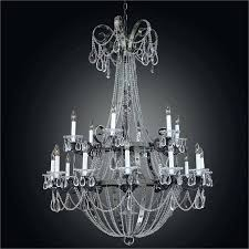 wrought iron crystal chandelier small gallery versailleini 3 in 1 white chandeliers lighting h27