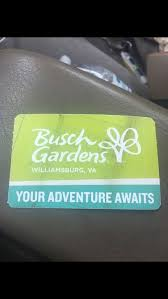 single day busch gardens tickets and water country as well tickets in norfolk va offerup