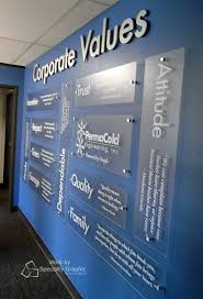 corporate office decorating ideas pictures. Business Office Designs Corporate Values Display For Permacold Portland ORjpg Design OfficesOffice Decorating Ideas Pictures