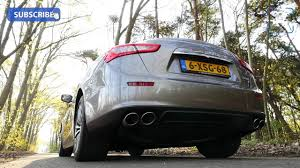 Maserati Ghibli Diesel Sound Test 3.0 V6 Turbo 275 HP Startup Revs ...