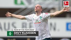 Two days after the 1: Bundesliga Davy Klaassen Matchday 31 S Man Of The Matchday And Werder Bremen S Potential Saviour In The Relegation Battle