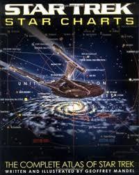 Star Trek Star Charts Book Star Trek Star Charts The Complete Atlas Of Star Trek By