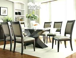 round glass table set post glass dining table decoration ideas