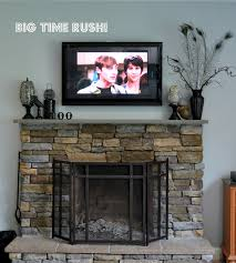 stunning fireplace mantel ideas with tv above pictures ideas