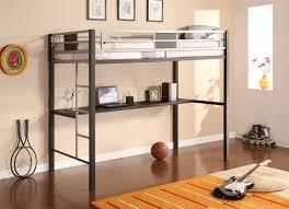 Loft Bedroom Furniture Dhp Furniture Silver Screen Loft Bunk