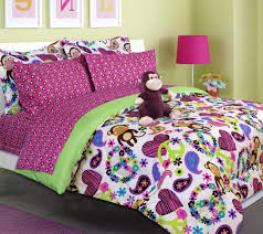 Purple and Green Bedding for Girls: decorating for the long haul ~ or not ~