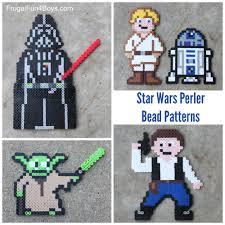 Star Wars Perler Bead Patterns Beauteous Star Wars Perler Beads Patterns Frugal Fun For Boys And Girls