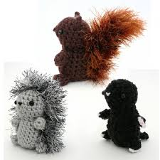 Amigurumi Crochet Patterns Enchanting Mini Fuzzies Woodland Creatures 48 Amigurumi Crochet Patterns