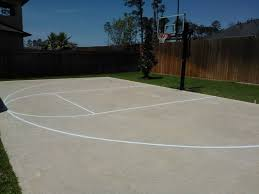 paint an outdoor basketball court basketball manitoba