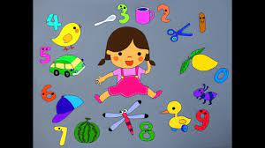 Thơ hay cho bé_Bài thơ Bé Học Toán - YouTube