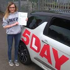 Jess Cherry O'Donnell - Bristol - 5Day Intensive Driving Courses