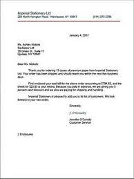 Modified Semi block Style Business Letter