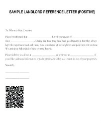 Free Landlord Reference Letter Template Employer Request Letters ...