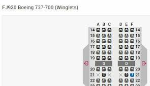 Boeing 737 700 Winglets Seating Chart Fiji Airways 737 700 Seating Chart Confusion Flyertalk Forums