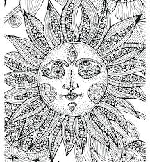 Coloring Pages For Adults To Print Free Spring Coloring Page