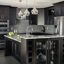 black kitchen decor and ideas cabinets c31 cabinets