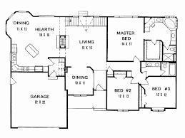 three bedroom house plan pdf beautiful 47 unique pics 3 bedroom floor plan with dimensions pdf