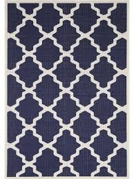 sisalo morocco navy indoor outdoor rug