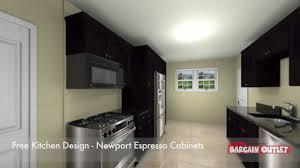 Bargain Outlet Kitchen Design Virtual 3d Newport Espresso Kitchen Design By Jon R Of Auburn Ma
