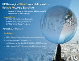 Hp Bladesystem Compatibility Chart Hp Data Agile Bura Solutions Reference Guide Ebs