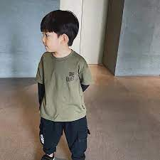 Bộ Quần Áo Thu Đông Dài Tay Phong Cách Hàn Quốc Cho Bé Trai 8-32kg Chất  Liệu Dày Dặn DOLY STORE - Áo bé trai Hãng OEM