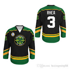 Ross The Boss Rhea Goon Movie St Johns Shamrocks Hockey Jersey Embroidery Stitched Customize Any Number And Name