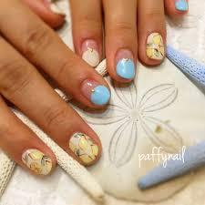春夏デート女子会ハンド Paffynailのネイルデザインno3125759