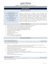 Data Analyst Resume Examples To Inspire You Vinodomia