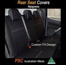 seat cover holden barina rear armrest 100 waterproof premium neoprene