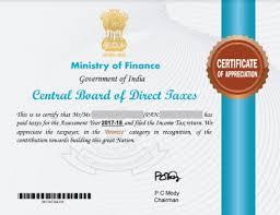 Certificate Of Appreciate Certificate Of Appreciation