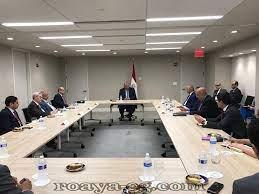 تمهيدا لجلسة مجلس الأمن بخصوص سد النهضة شكري يلتقي اللجنة العربية المعنية  للتنسيق و المتابع -