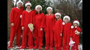 Family Christmas Picture Family Christmas Pajamas Youtube