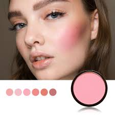 focallure 6 colors blush makeup cosmetic natural pressed blusher powder palette charming cheek color make up face blush
