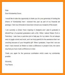 write a letter for scholarship how to write a scholarship letter scholarship thank you letter examples