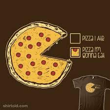 Pizza Pie Chart Shirtoid