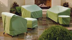 cover furniture. Contemporary Furniture Patio Sofa Cover Furniture Soft Green Colors Sets With Round Short  Chairs And Square Small On Cover Furniture